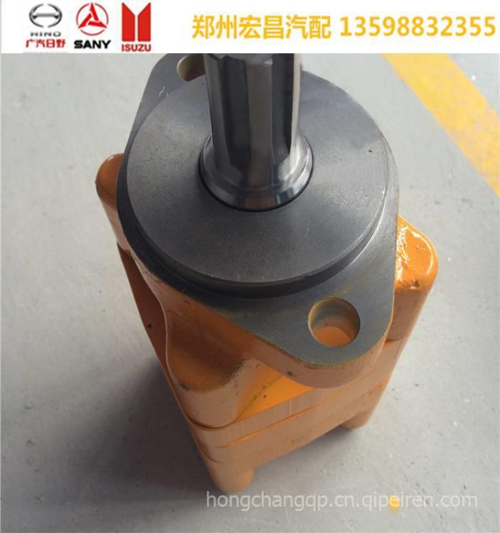 日野车配件_三一中联泵车配件三一泵车减速机摆线马达st日野三一.