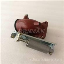 现货批发康明斯排气制动阀4983719东风天龙天锦排气制动弯管/4983719