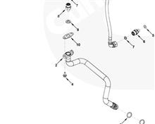 供应 康明斯 增压器回油管3287571  /3287571