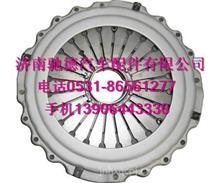 重汽T7H离合器压盘总成CH430-21拉式T5G离合器压盘总成原厂件
