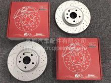 ECFRONT适用于宝马X4车型原装位打孔划线刹车盘改装