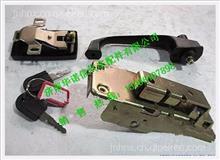 陕汽德龙偏置码头车左车门锁操纵机构总成QXPM-6105010/QXPM-6105010
