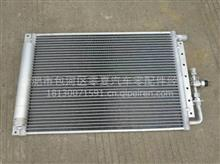 一汽解放J6空调带瓶冷凝器  货车挖机通用冷凝器/解放J6空调配件批发零售
