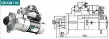 进口小松S6D125S6D108(PC300PC300-3)12齿减速起动机 QDJ2811G/ 佩特来起动机 闽仙起动机