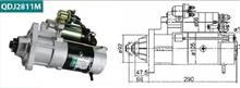 卡特彼勒6121C系列发动机 12齿减速起动机马达 QDJ2811M/ 佩特来起动机 闽仙起动机