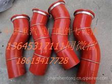 重汽豪沃中冷器胶管/重汽HOWO中冷器进气管 WG9725530178/WG9725530178