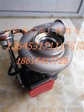 重汽豪沃T10天然气发动机霍尔赛特涡轮增压器总成VG1540110096/VG1540110096