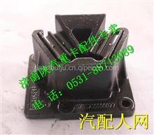 DZ95259590077陕汽德龙新款M3000左前减振垫发动机前悬置胶垫/DZ95259590077