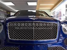 深圳汽车贴膜宾利添越漆面施工隐形车衣汽车玻璃贴隔热膜/宾利添越