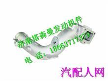 081V09411-0676重汽曼发动机MC07增压器进气弯管/081V09411-0676