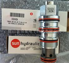 SUN先导式液控单向阀 CVCV-XAN 透气型 /CVCV-XAN