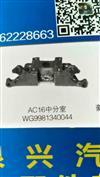 AC16后分泵支架(中桥)/WG9981340044