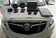 别克G L 8宜春百伦汽车音响改装 德国喜力士和麦仕音响乐在其中/P62C