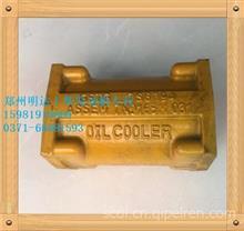 上柴CAT卡特C6121发动机机油冷却器焊接件总成C18AB-7N0165+A/上柴发动机专营