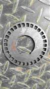一汽解放J6底盘配件 前轴头螺母锁片 前转向节螺母锁片10033343-A6T/10033343-A6T