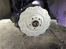 ECFRONT梅花刹车盘原装位安装奥迪A6L改装案例/3421