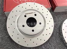 宝马328i 原装位安装ECFRONT打孔刹车盘改装案例