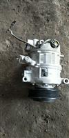 2013款宝马116i空调压缩机原装进口拆车件/2013款宝马116i冷气泵原装拆车件