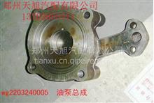 重汽变速箱油泵总成WG2203240005/中国重汽原厂配件质量三包