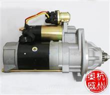 一汽解放奥威锡柴6113、6DF系列发动机QDJ2709A-P起动机马达/ 3708010-017-BG1A-000