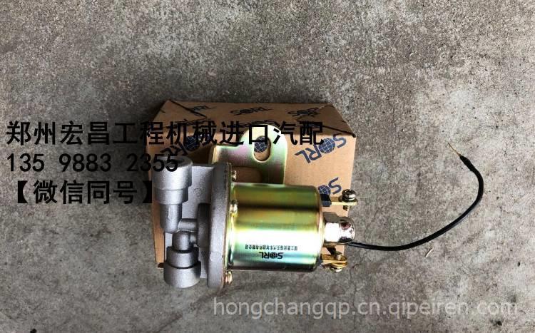 适用于三一搅拌车-08-09款高低档电磁阀-电磁气阀进口图片