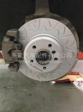 宝马525LI原厂卡钳刹车升级ECFRONT龙鳞刹车盘 高性能