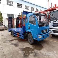 东风多利卡玉柴150马力平板拖车价格/CLW5140TPBT5