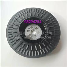适用于东风康明斯发动机ISDE国五曲轴扭振减振器C5294254/C5294254