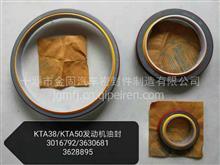 KTA50/K38曲轴前后油封/6330681/3016792