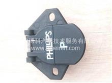 东风天龙挂车7芯螺旋线插座/716-3171