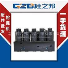 现货山东临工LG6300五联电磁阀组供应/11214493