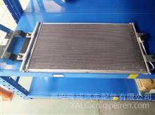 陕汽重卡德龙X3000冷凝器总成DZ14221845057/DZ14221845057