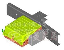 华菱牵引车电器系统蓄电池框体/37F59D-03052/37F59D-03052