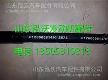 潍柴WP10EGR发动机喷油泵润滑油管 612600081470/612600081470