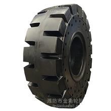 30铲车轮胎17.5-25实心装载机轮胎 L-5加深花纹 耐磨带钢板防刺穿