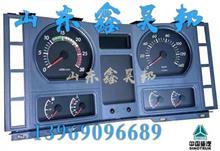 WG9125589001中国重汽原厂配件金王子组合仪表总成仪表盘总成