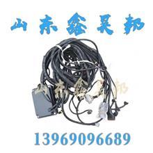 中国重汽原厂配件豪沃轻卡统帅悍将HOWO底盘线束总成车架线原装/13969096689