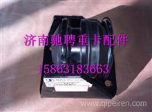 DZ96259590107陕汽德龙新M3000发动机左后悬置减震垫/DZ96259590107