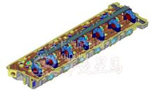 华菱汉马动力-CM6D28气缸盖上水管/618DA1003049A/618DA1003049A