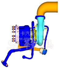 华菱汉马涡轮增压器进油管焊接部件/618DC1118201A/618DC1118201A
