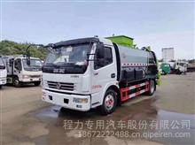 湖北程力国六东风大多利卡8方餐厨垃圾车价格配置(方罐)/CLW5121TCA6