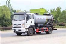 国六东风专底8.5方餐厨垃圾车配置价格(圆罐)/CLW5161TCAKL6