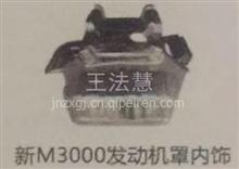 济南重汽配件中心销售德龙新M3000发动机罩内饰/德龙新M3000发动机罩