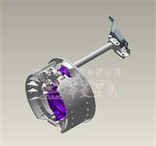 华菱-中桥-HL3000系统制动蹄总成制动摩擦片/3502042T00H/3502042T00H