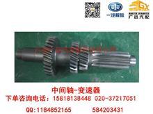 一汽解放CA1081/CA6TBX075M/CA6T138中间轴-变速器/1701212-BQ234