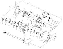 汉德469 后桥轮间差速器行星齿轮垫片/HD469-2403018