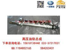 一汽解放大柴道依茨4DD1高压油轨总成/1129110-90D