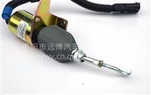 C5295567东风康明斯工程机械发动机断油电磁阀总成电熄火控制器/C5295567