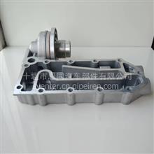 东风天锦EQ4H风神发动机配件机油冷却器带机油滤清器座总成/1012BF11-010