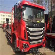 陕西商洛江淮K5挖机拖车-板车-平板车出厂价格/DLQ5161TPBY5